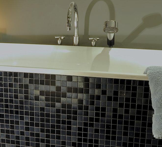 Mozaiek badkamer - Unieke badkamers met een persoonlijke touch.