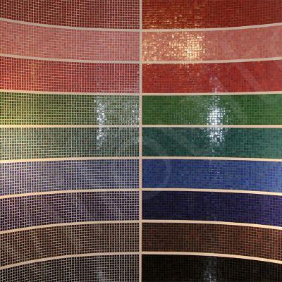 mozaiek kleur voegen