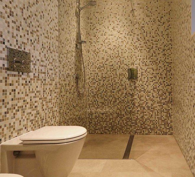 Mozaiek badkamer unieke badkamers met een persoonlijke for Badkamer zen