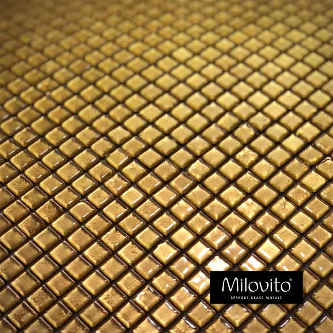 goud gold glasmozaiek tegels mozaiek