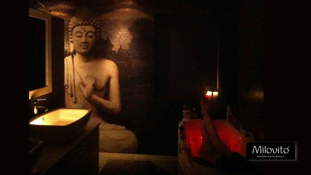 spirituele badkamer