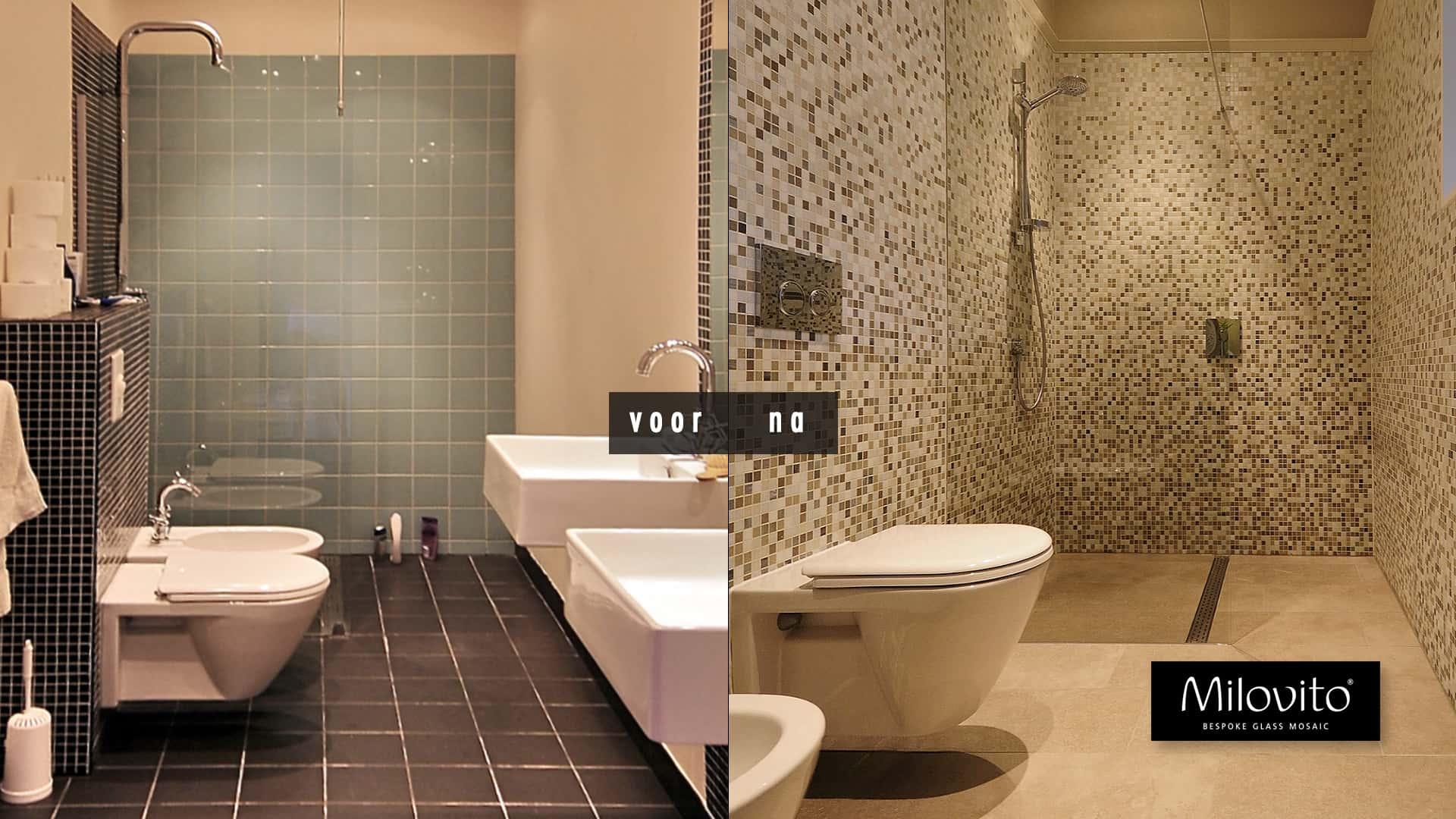 Renovatie Badkamer Tegels : Spectaculaire badkamer renovatie in amsterdam milovito