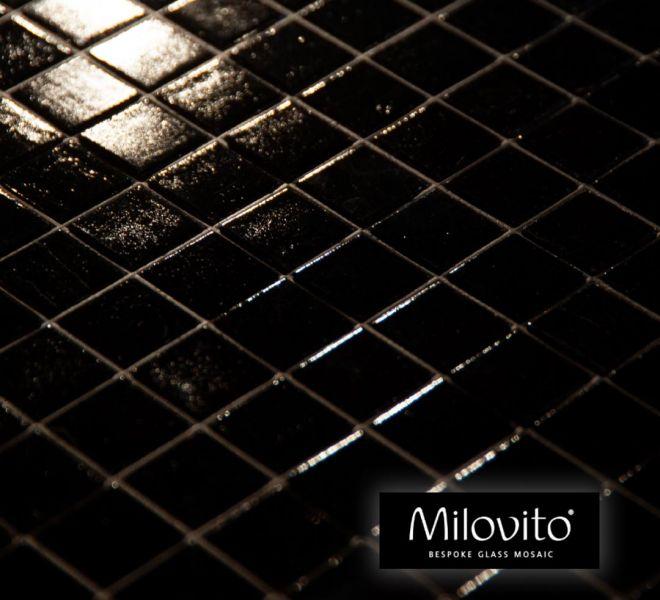 mozaiek tegels zwart