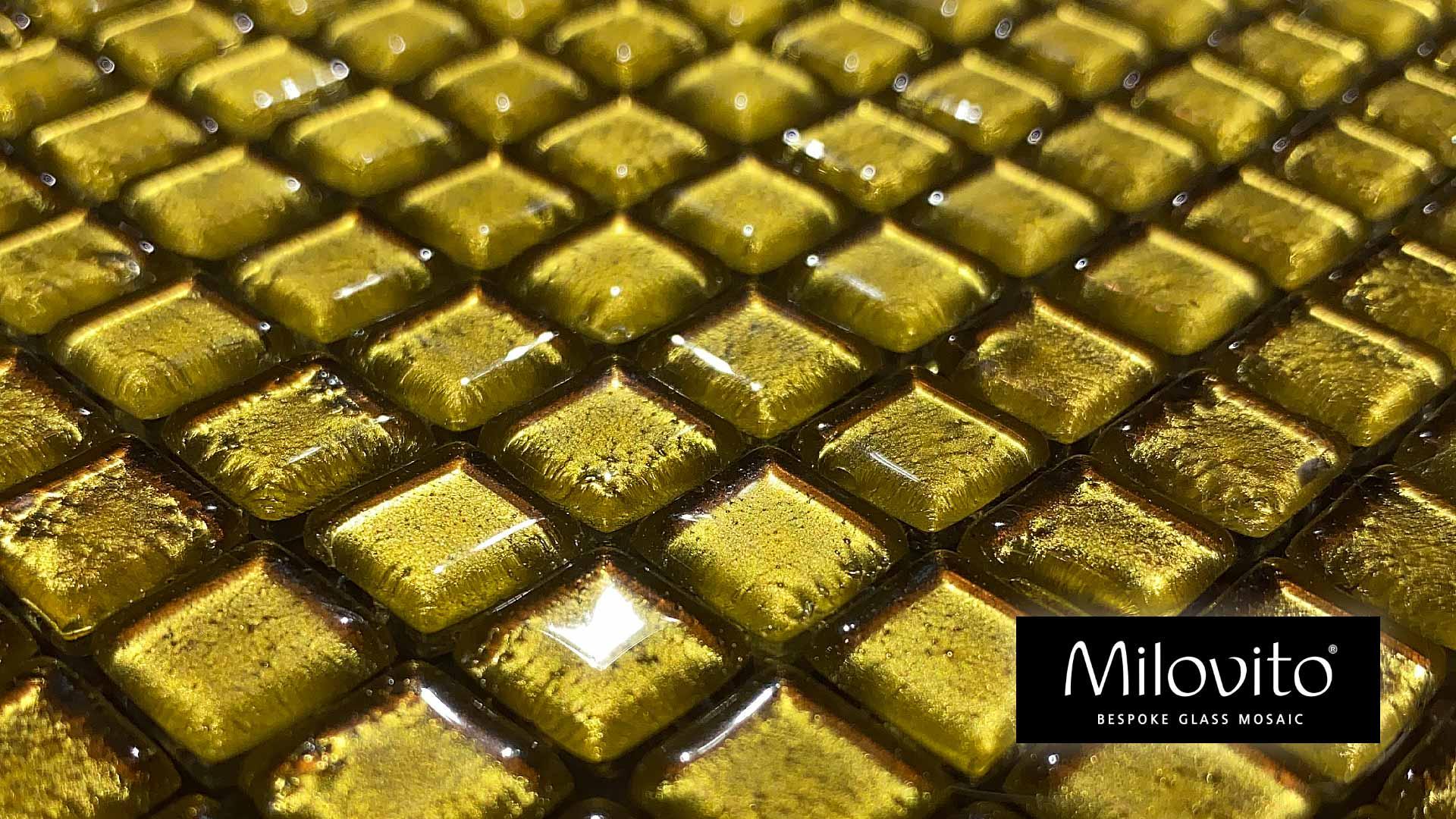 mozaiek tegels goud