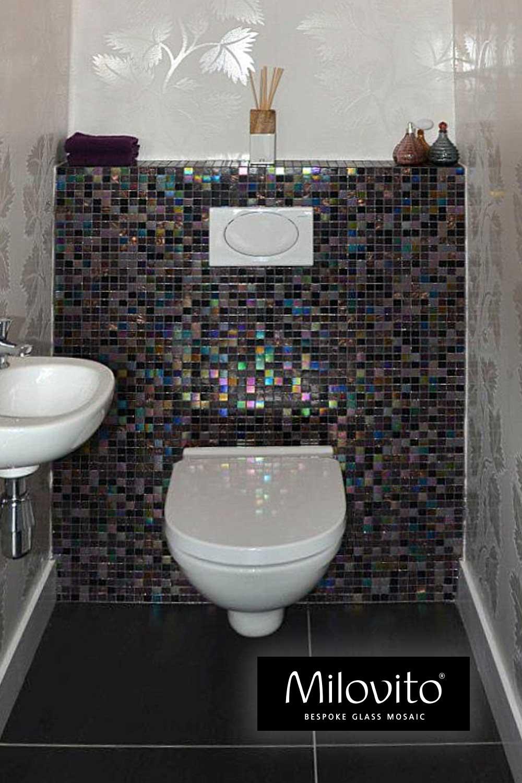 mozaiek tegels toilet