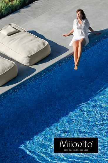 mozaiek zwembad tegels