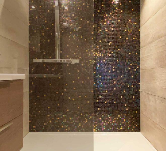 badkamertegels brons goud